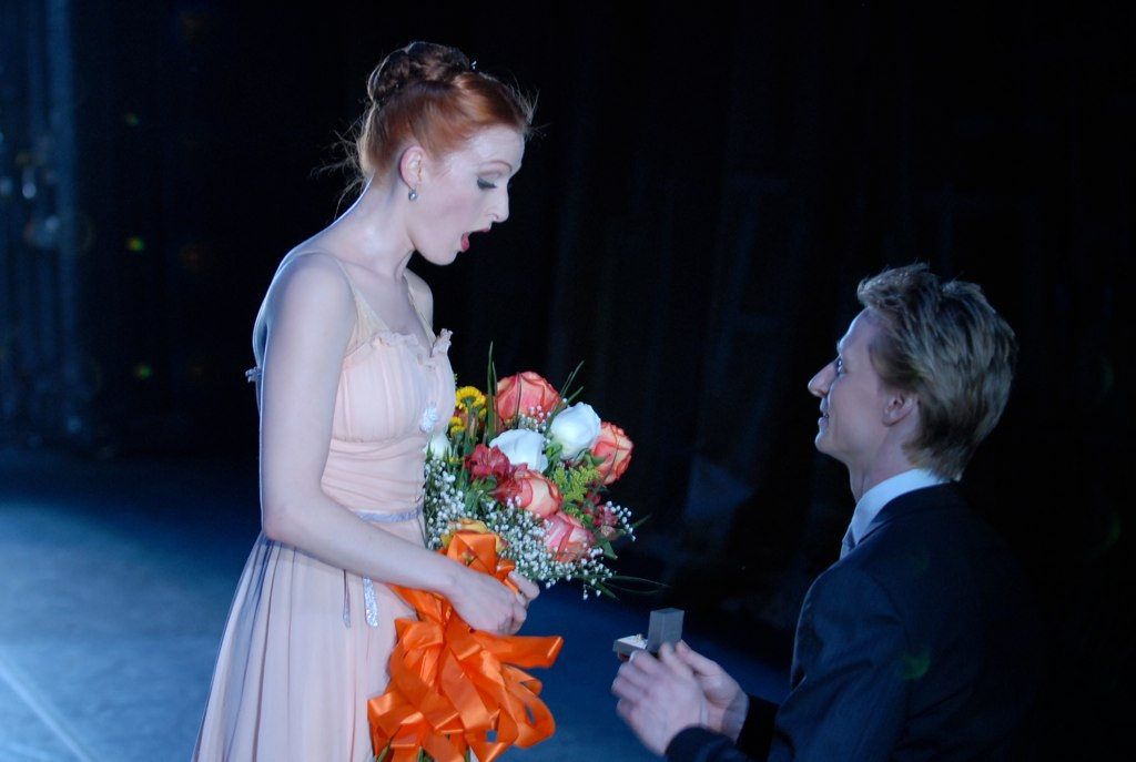 Ethan proposes to Gillian at the 2011 ABT Opening Gala
