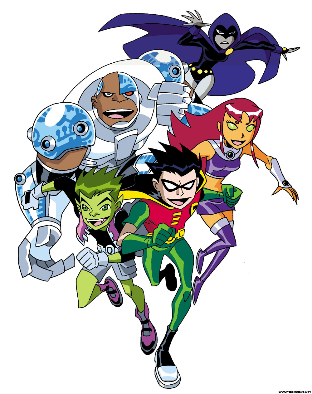 Teen Titans go animated.